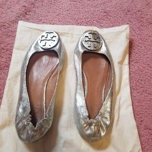Tory Burch silver sandals,  8